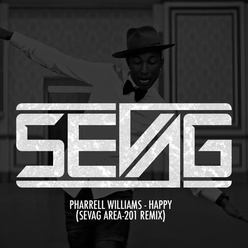 Pharrell Williams  Happy Sevag Area-201 Remix