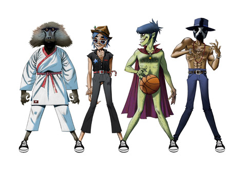 Official Video: DoYaThing – Gorillaz featuring Andre 3000 and James Murphy