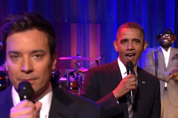 "O Barack Obama ""Slow Jamάρει"" στον Jimmy Fallon"