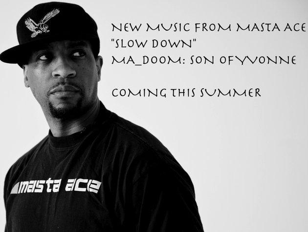 Masta Ace – Slow Down (prod. MF Doom)