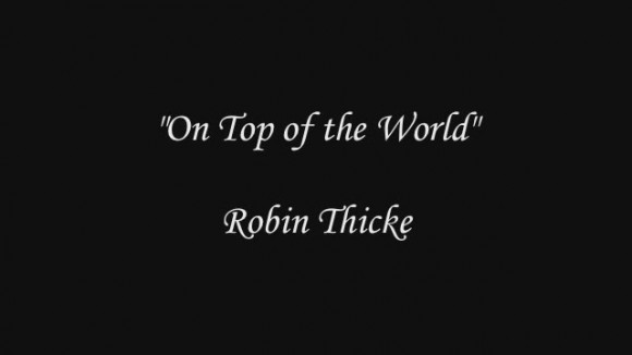 Robin Thicke – Top Of The World