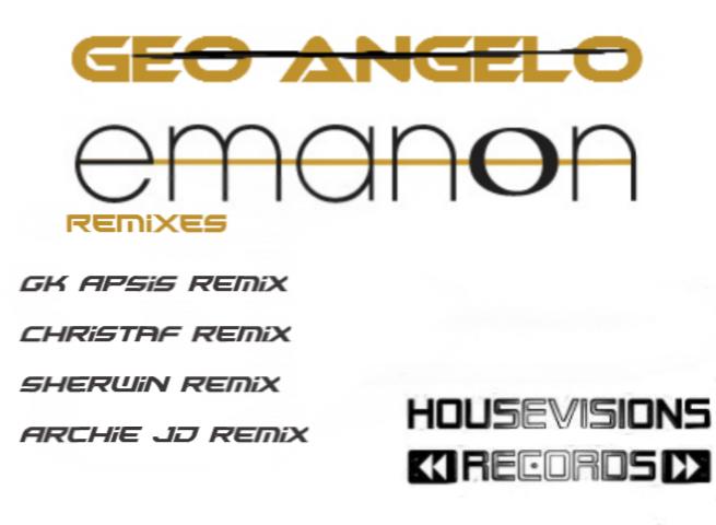 Geo Angelo – Emanon (Original Mix & Remixes)