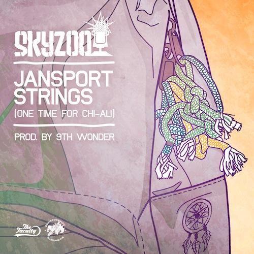 Skyzoo – Jansport Strings (Prod. by 9th Wonder)