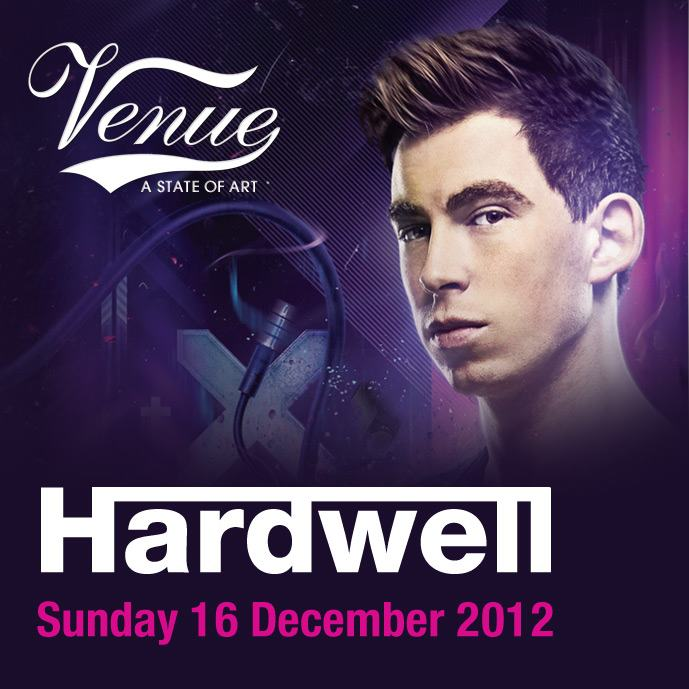 Hardwell Live In Athens 16.12. – Venue Club