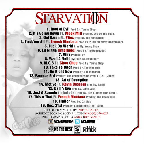 Starvation2Back- beattown