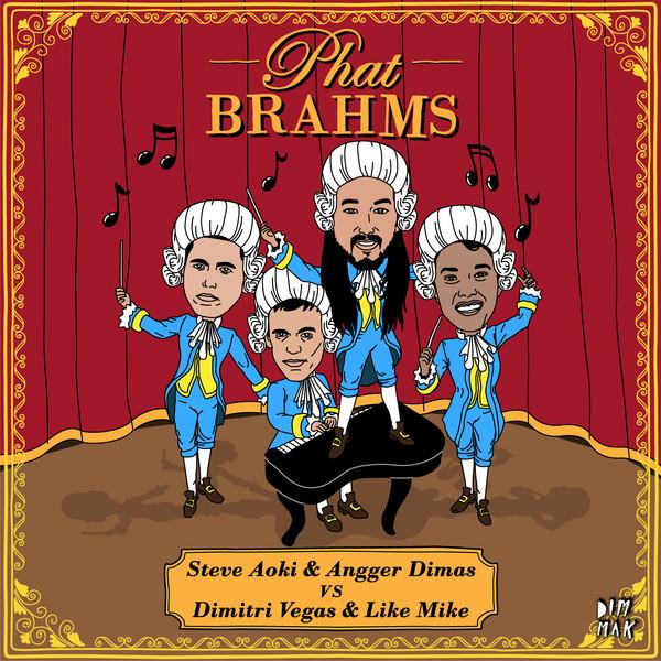 Steve Aoki, Angger Dimas, Dimitri Vegas & Like Mike – Phat Brahms (Tom Swoon Remix) (Teaser)