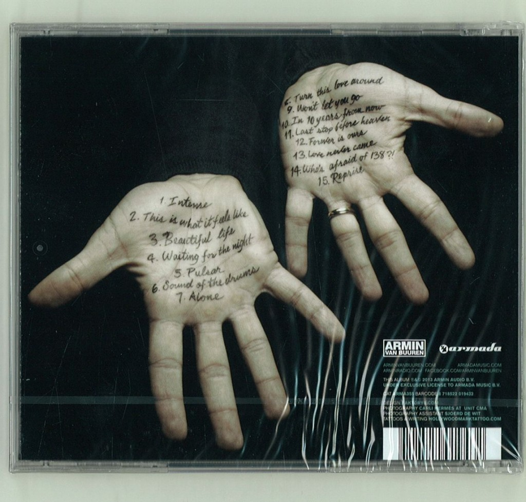 Armin Van Buuren - Intense (Limited Edition) - beattown