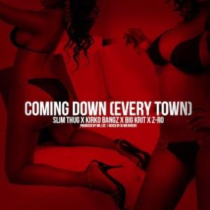Slim Thug Ft Kirko Bangz, Big K.R.I.T. & Z-Ro – Coming Down (Every Town) - beattown
