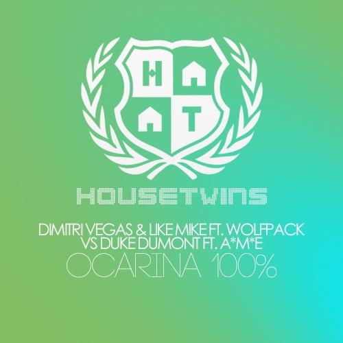 Dimitri Vegas & Like Mike ft. Wolfpack VS Duke Dumont ft. A*M*E – Ocarina 100% (HouseTwins Mashup)