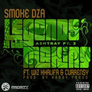 Smoke DZA Ft Wiz Khalifa & Curren$y – Legends In The Making (Ashtray Pt 2) - beattown