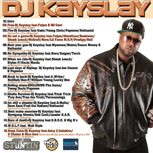 kayslay back