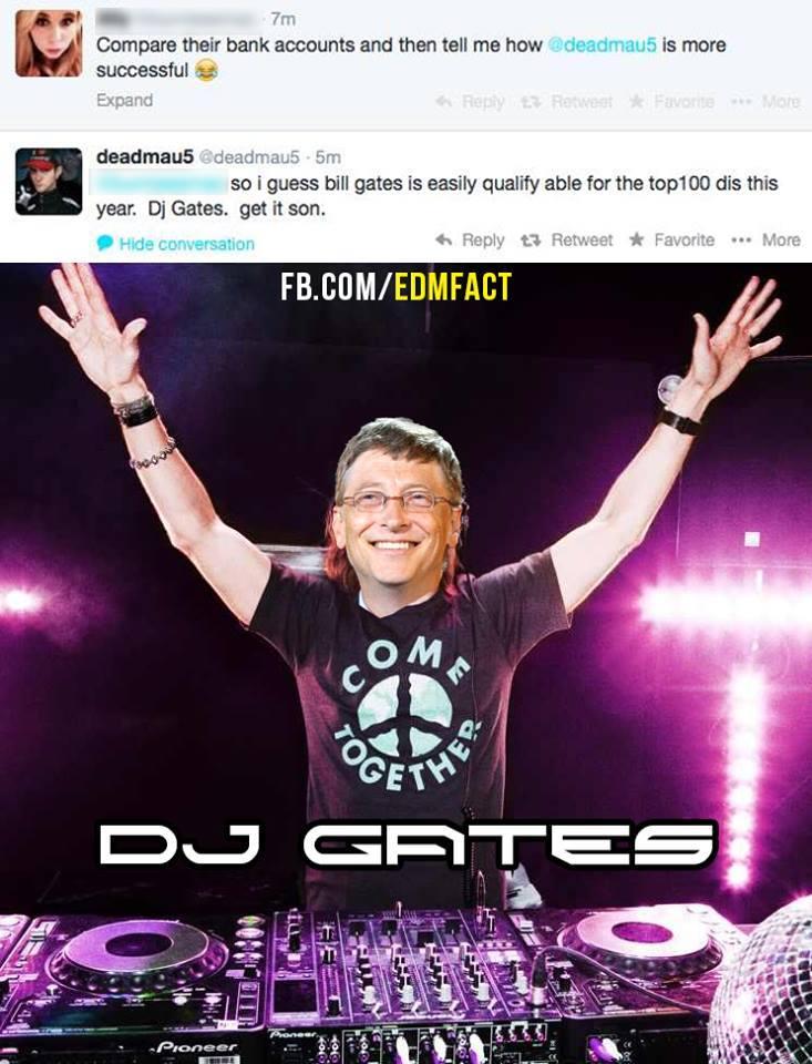 tweet dj gates