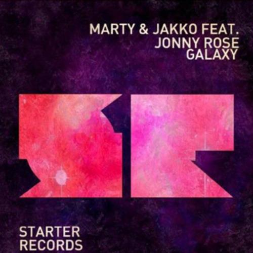 Marty & Jakko Feat. Jonny Rose - Galaxy