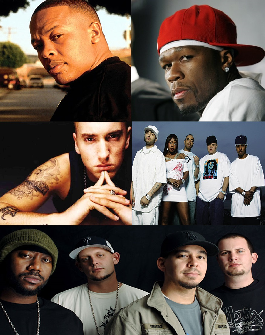 Throwback Sundays Vol.14 : Dr.Dre, Eminem, Terror Squad, Fort Minor, 50 Cent