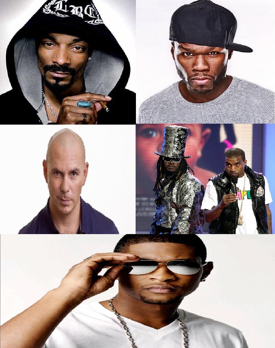Throwback Sundays Vol.17: 50 Cent, Kanye West, Pitbull, Usher, Snoop Dogg