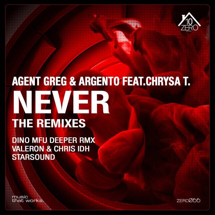 Agent Greg & Argento feat. Chrysa T. – Never (Remixes)