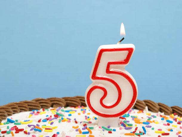 birthday-five-years