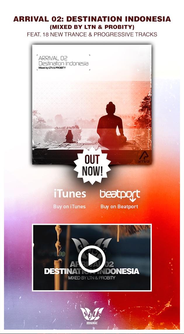 LTN & Probity's Arrival 02: Destination Indonesia (Album Teaser)