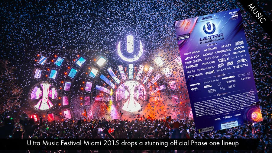 Ultra Music Festival: Updates, Sets & Live Stream (2015)