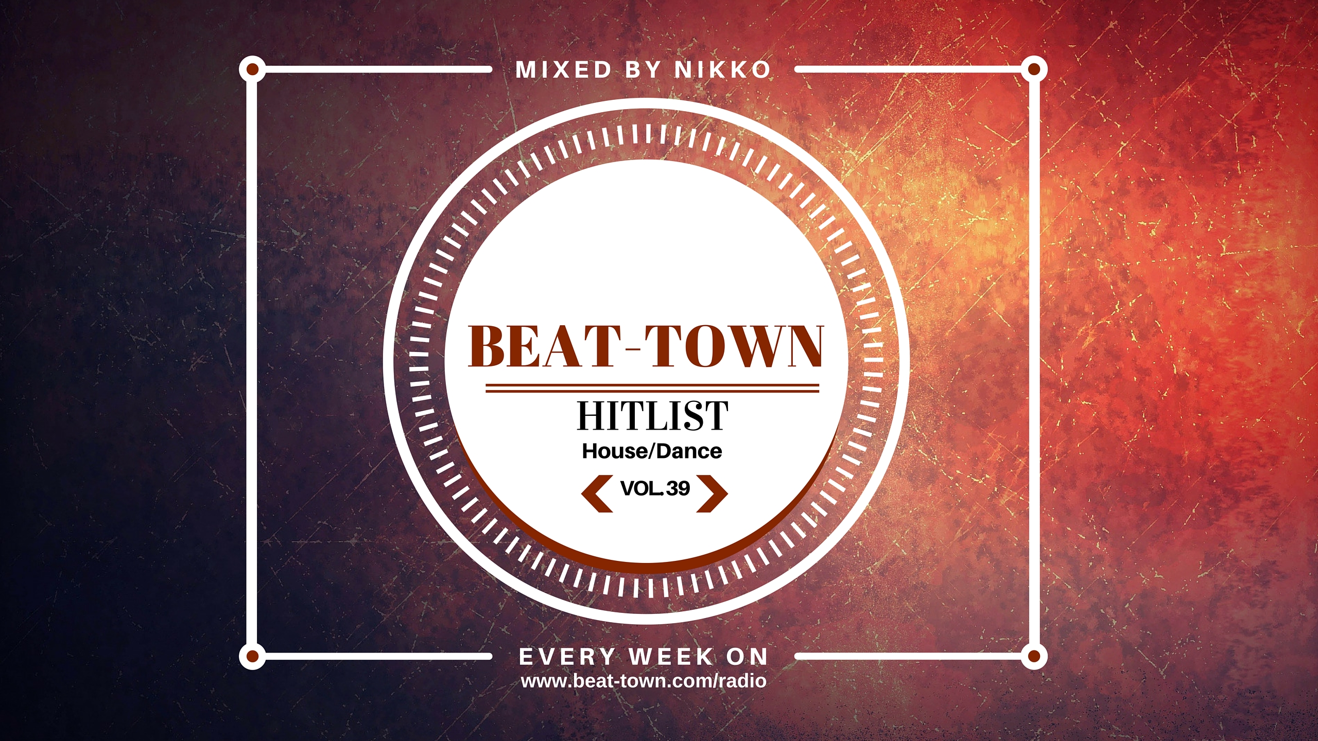 Beat Town Radio: Hitlist Vol. 39 (House/Dance)