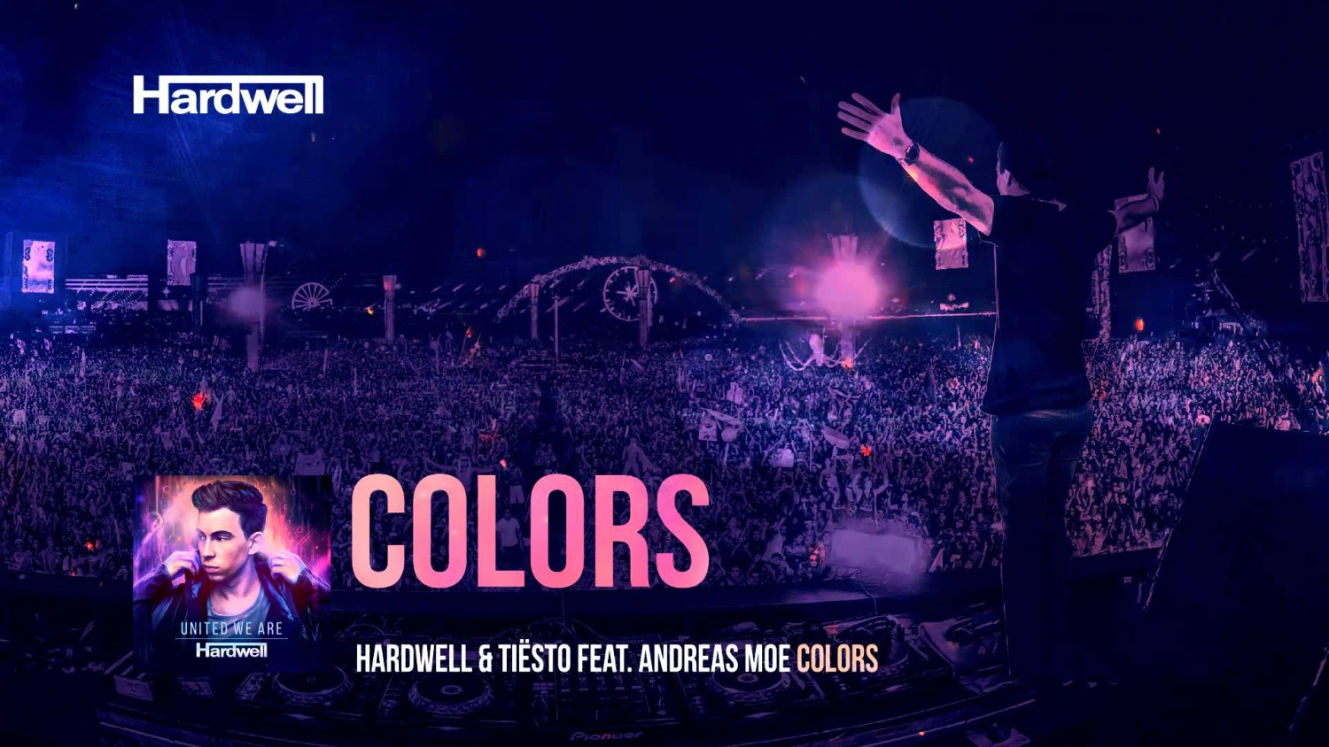 Hardwell & Tiësto feat. Andreas Moe - Colors (Vicetone Remix)
