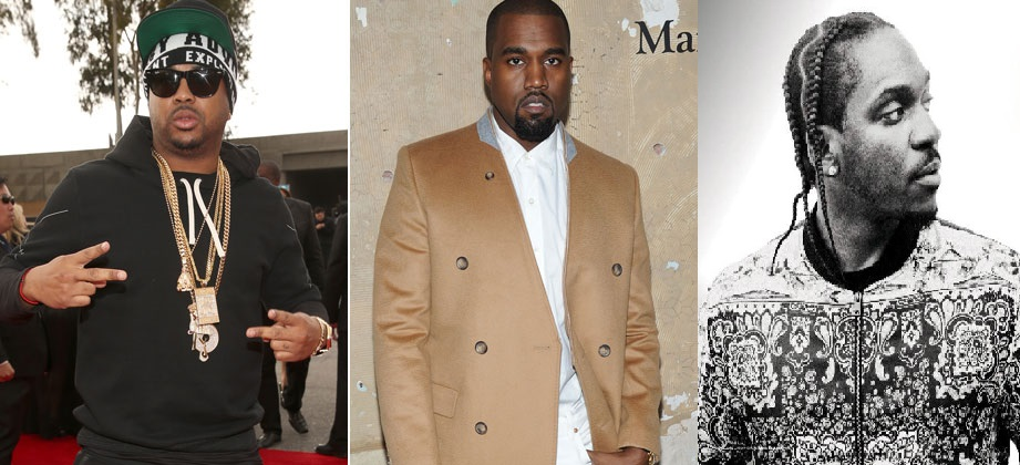 Pusha T feat. The-Dream, Kanye West & A$AP Rocky – M.P.A. (Video)