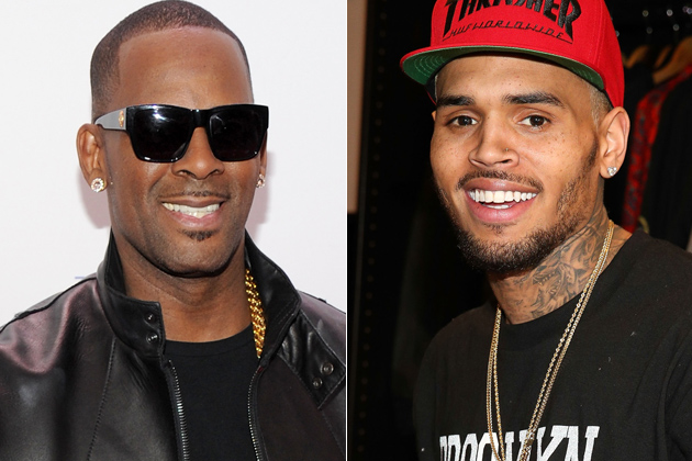 Chris Brown feat. R. Kelly & Golde – She Ain't With You Now