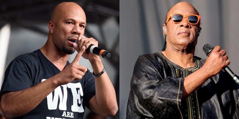 Common feat. Stevie Wonder & Chuck D – Black America Again (Video)