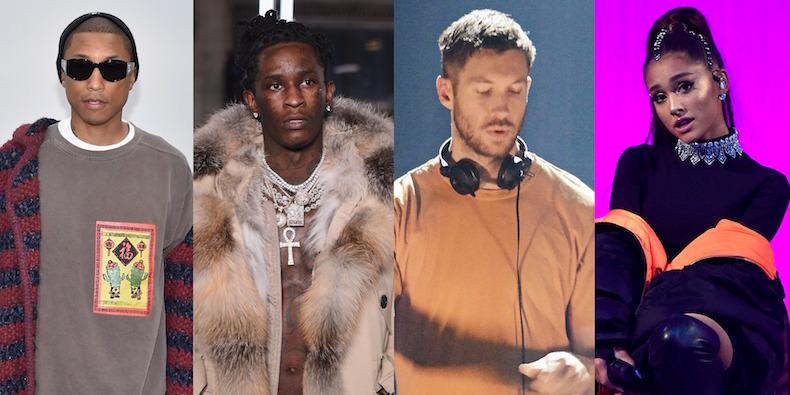 Calvin Harris feat. Pharrell Williams, Ariana Grande, Young Thug & Starrah – Heatstroke