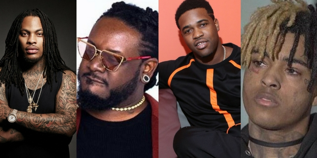 T-Pain, A$AP Ferg, DJ Khaled, Waka Flocka Flame, Dave East, XXXtentacion & more – BET 2017 Cypher (Video)