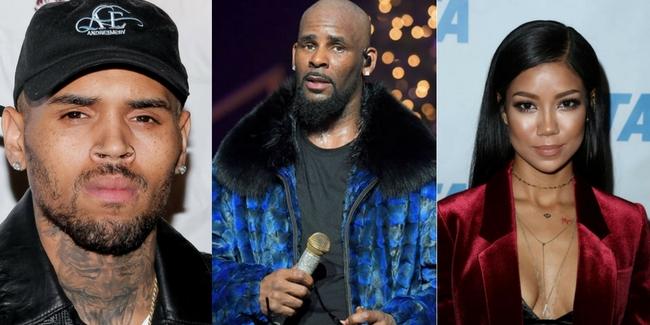 Chris Brown feat. Jhene Aiko & R. Kelly – Juicy Booty