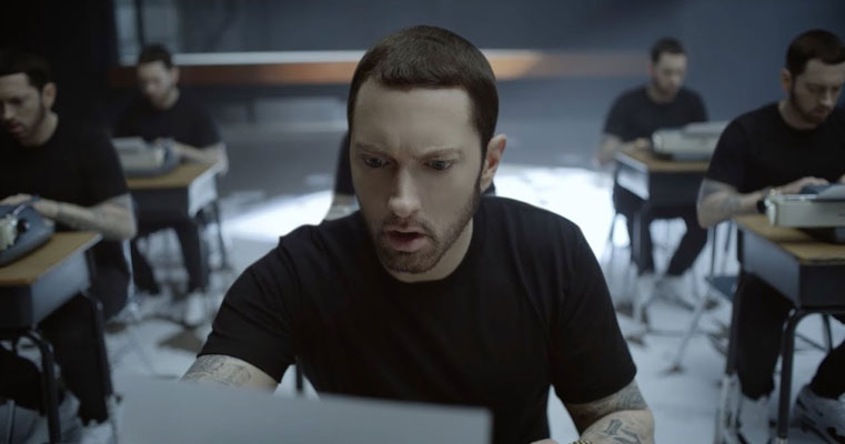 Eminem feat. Beyonce – Walk On Water (Video)
