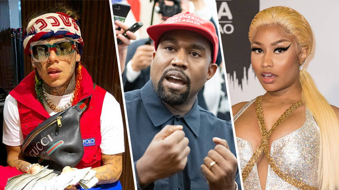 Tekashi 6ix9ine feat. Kanye West & Nicki Minaj – MAMA