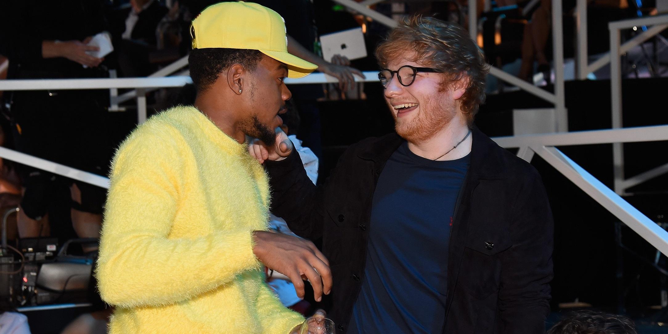 Ed Sheeran feat. Chance The Rapper & PnB Rock – Cross Me