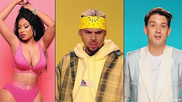 Chris Brown feat. Nicki Minaj & G-Eazy – Wobble Up (Video)