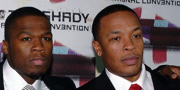 Ο 50 Cent ξανά στο studio με τον Dr. Dre!