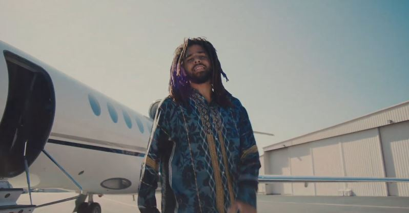 J. Cole, J.I.D., Bas, EarthGang & Young Nudy – Down Bad (Video)