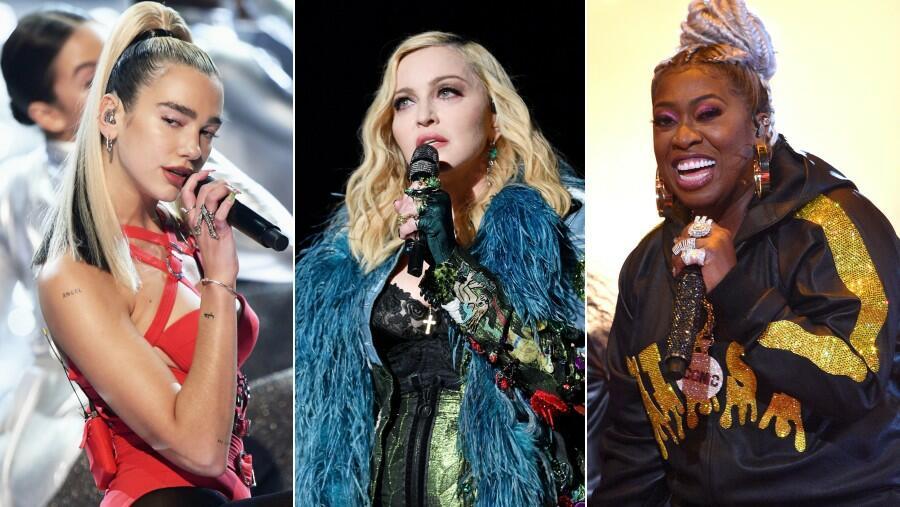 Dua Lipa feat. Madonna & Missy Elliott – Levitating (Remix)