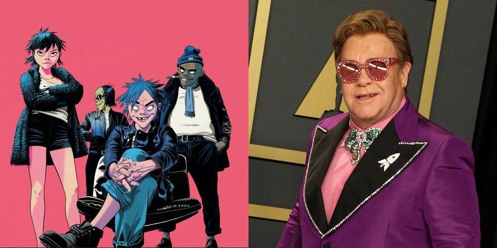 Gorillaz feat. Elton John & 6lack – The Pink Phantom (Video)