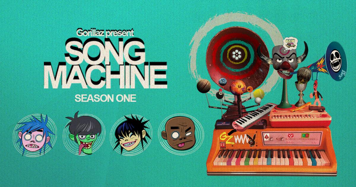 Stream: Gorillaz – Song Machine, Season One: Strange Timez