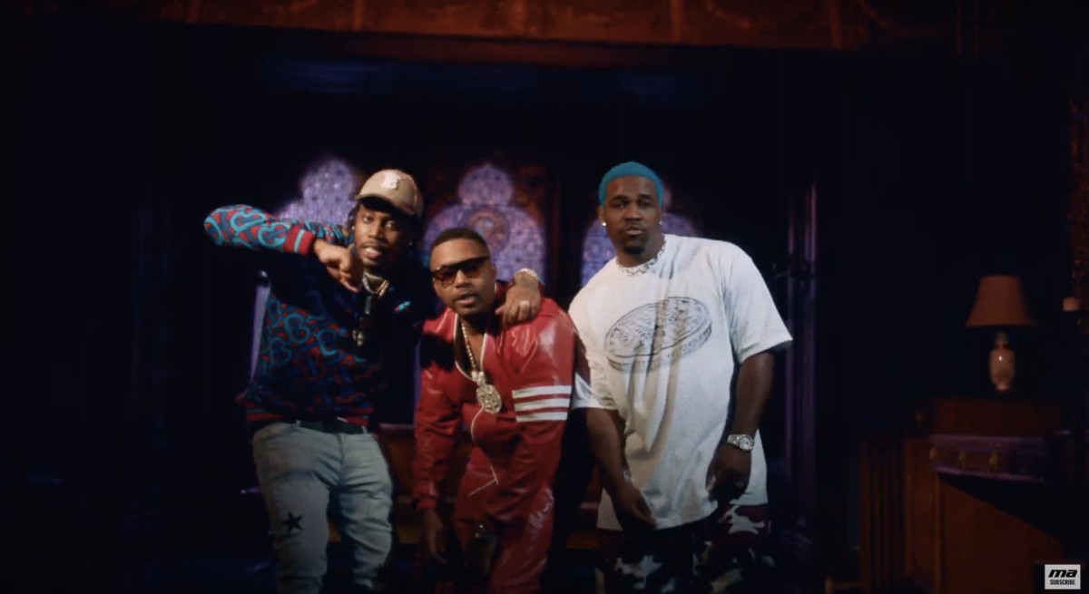 Nas feat. A$AP Ferg & Fivio Foreign – Spicy (Video)