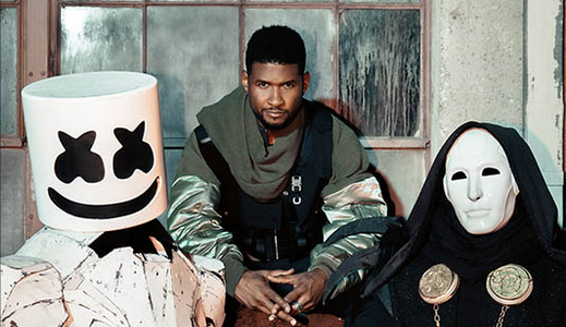 Marshmello & Imanbek feat. Usher – Too Much (Video)