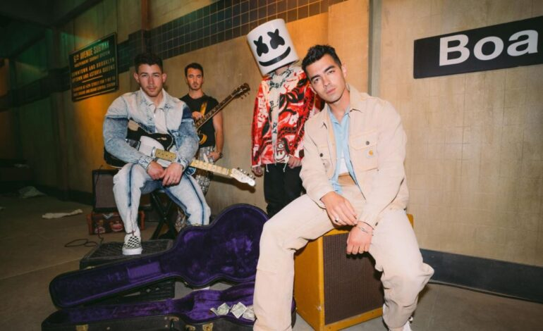 Marshmello & The Jonas Brothers – 'Leave Before You Love Me'