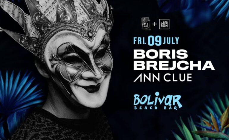 9 Ιουλίου ο Boris Brejcha επιστρέφει στο Bolivar Beach Bar