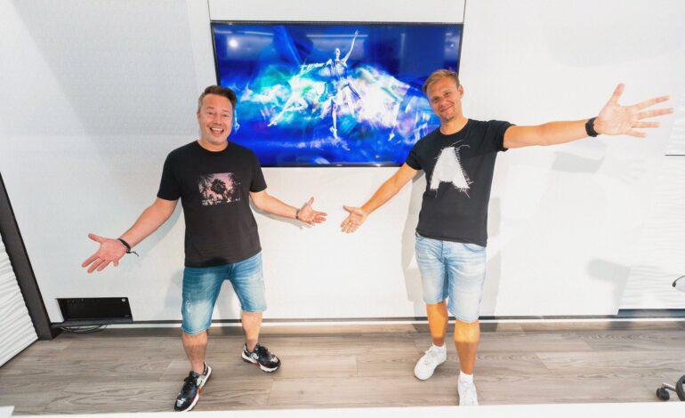 """Armin van Buuren και Sander van Doorn παρουσιάζουν το """"Jonson's Play'"""""""