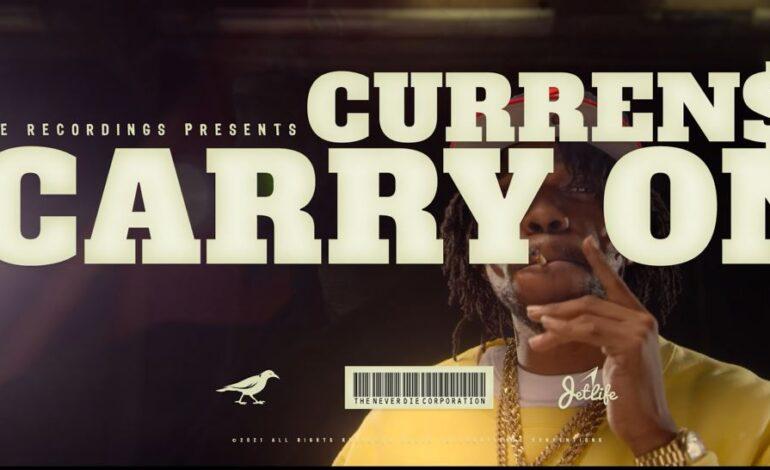 "Curren$y με οπτικοακουστικό υλικό για το""Carry On"""