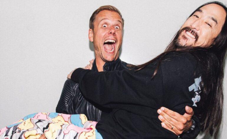 Steve Aoki & Armin van Buuren μαζί στο Music Means Love Forever