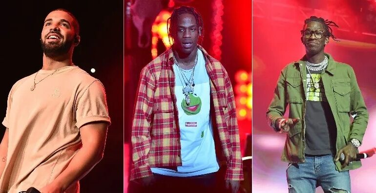 Young Thug feat. Drake & Travis Scott – Bubbly