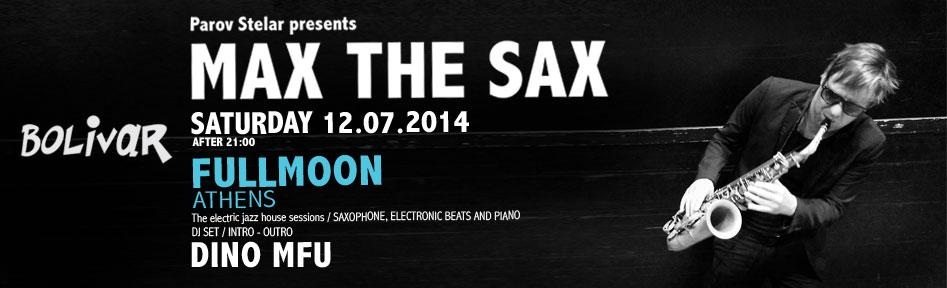 Parov Stelar presents Max The Sax: Σάββατο 12/07 @ Bolivar
