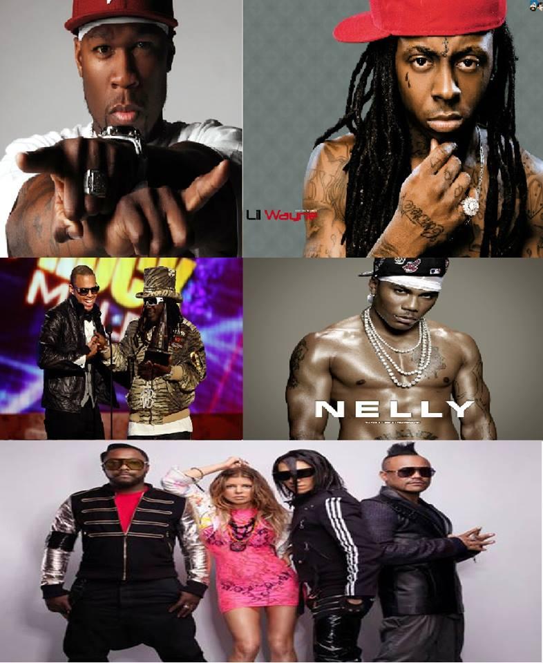 Throwback Sundays Vol.03: 50 Cent, Black Eyed Peas, Chris Brown, Lil Wayne, Nelly